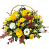 Funeral Basket in Yellow