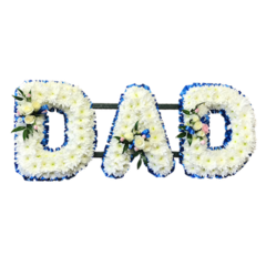 DAD tribute in Blue